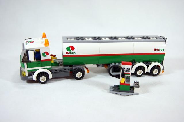 3180 le camion citerne lego blog - Lego city camion police ...