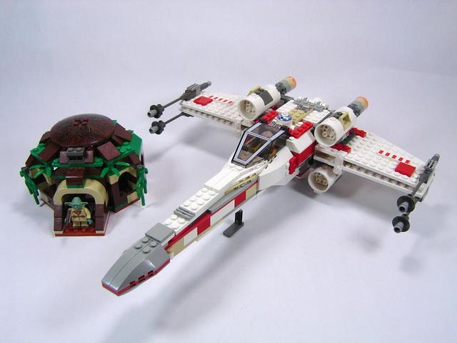 4502 x wing fighter lego blog - Lego star wars vaisseau anakin ...