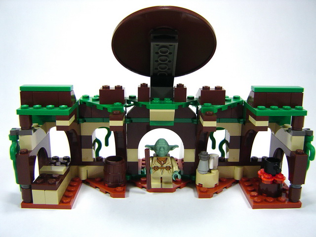 4502 x wing fighter lego blog - Maitre yoda lego ...