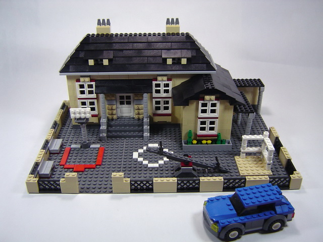 Lego creator town house the image kid for Modele maison lego classic