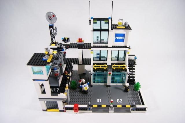 Mot cl police lego blog - Camion de police lego city ...