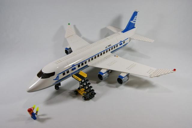 7893 avion de passagers lego blog - Avion de chasse en lego ...