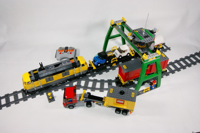7939 le train de marchandises lego blog. Black Bedroom Furniture Sets. Home Design Ideas
