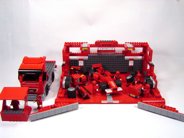 8654a stand scuderia ferrari lego blog. Black Bedroom Furniture Sets. Home Design Ideas