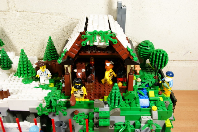 Moc la cr che de no l 2011 lego blog - Comment faire une ville lego city ...