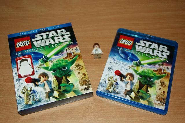 Lego star wars la menace padawan bluray combo dvd lego blog - Maitre yoda lego ...